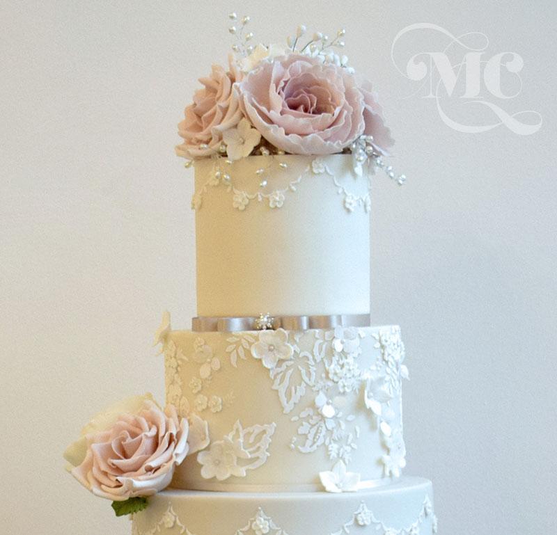 Cake Decorations For Wedding Cakes Uk : Gallery - Mama Cakes Cumbria - Luxury Wedding Cakes