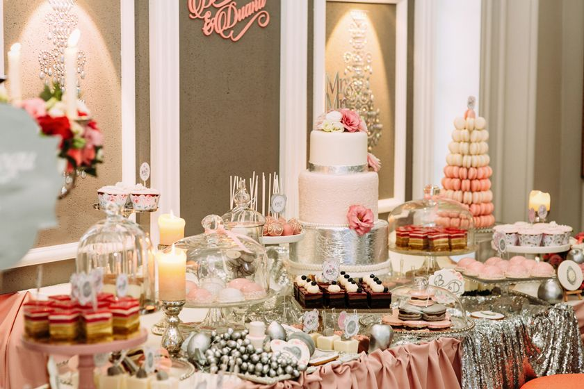Wedding trends... Dessert Table