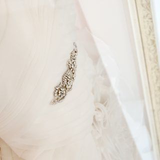 Mama Cakes studio and its framed-wedding-dress-2