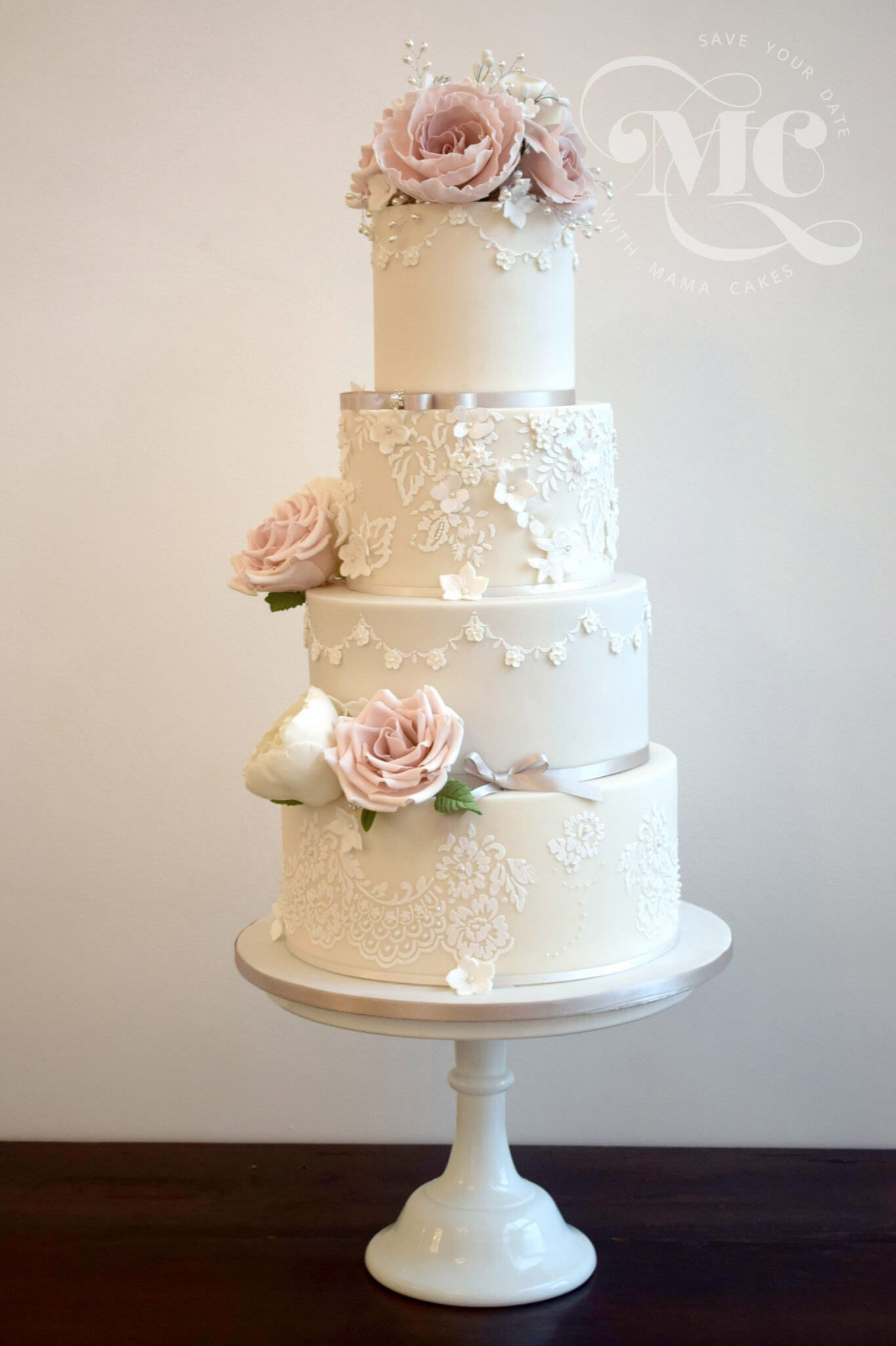 wedding cakes cumbria glamorous lace cakes cumbria luxury wedding cakes 24129
