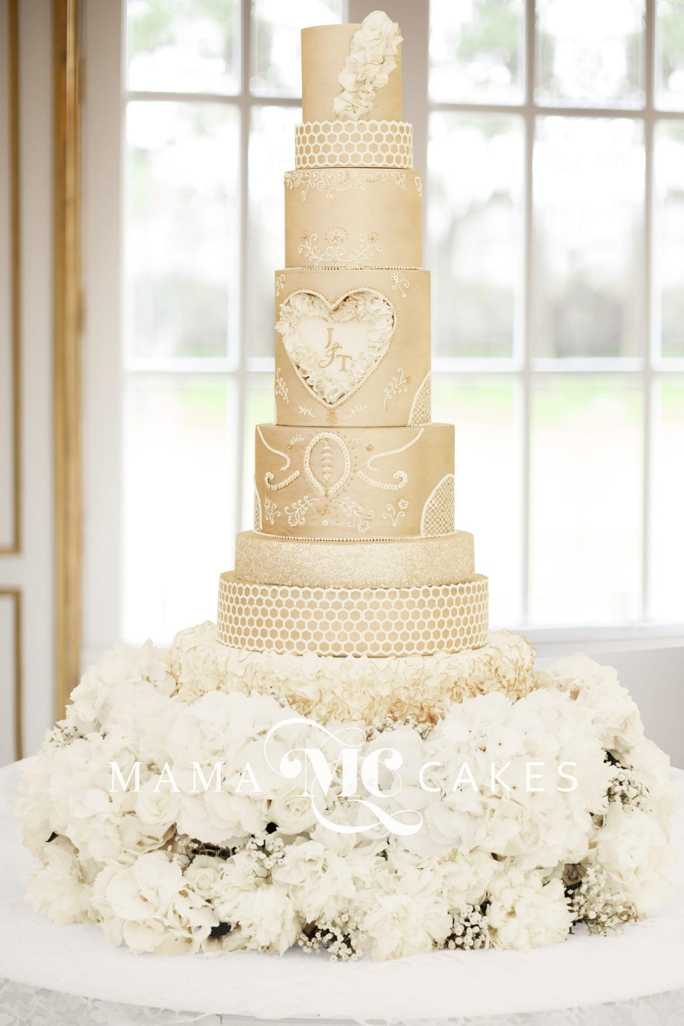 wedding cakes cumbria carved amp ruffles 8 tiers serves 237 474 24129