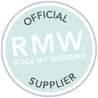 Rock My Wedding Official Wedding Cake Supplier badge