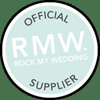 Rock My Wedding Official Wedding Cake Supplier badge