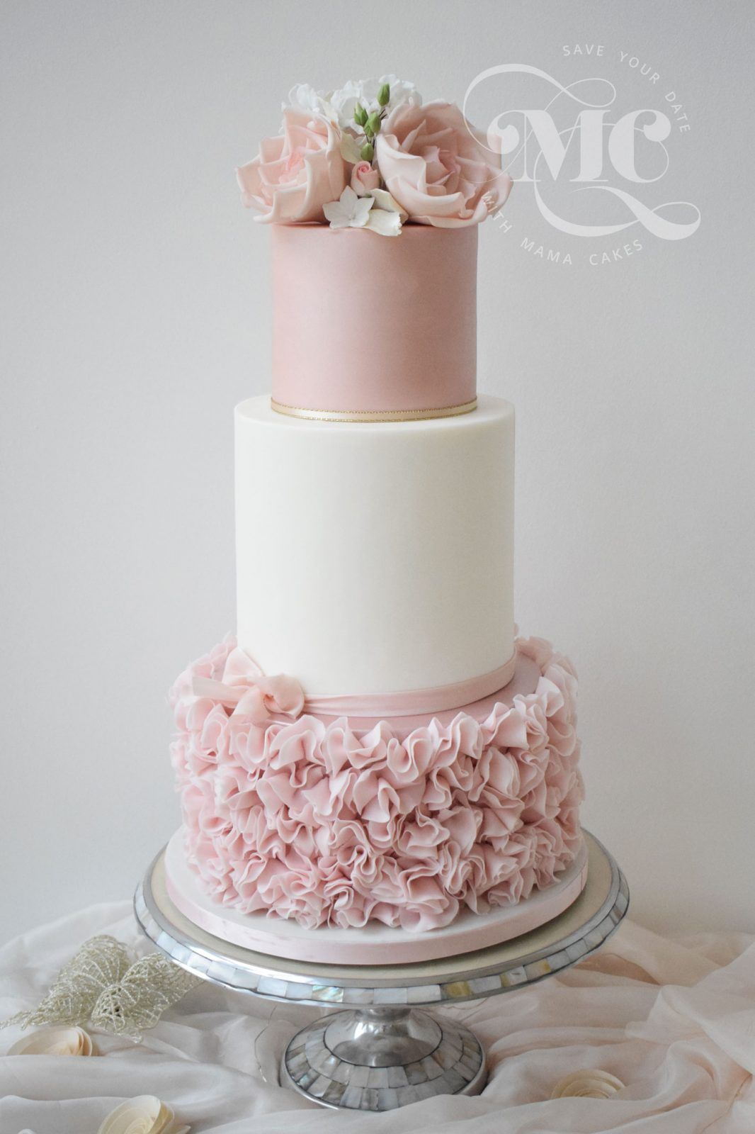 Three Tiers For Cake