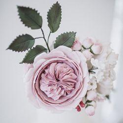 David Austin sugar rose by Mama Cakes