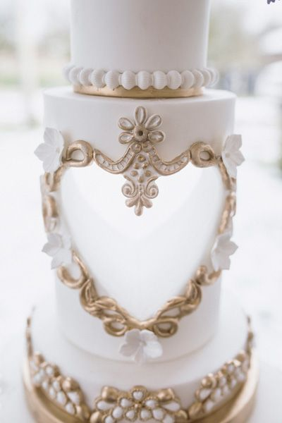 Gold and white mood board by Mama Cakes Cumbria 2
