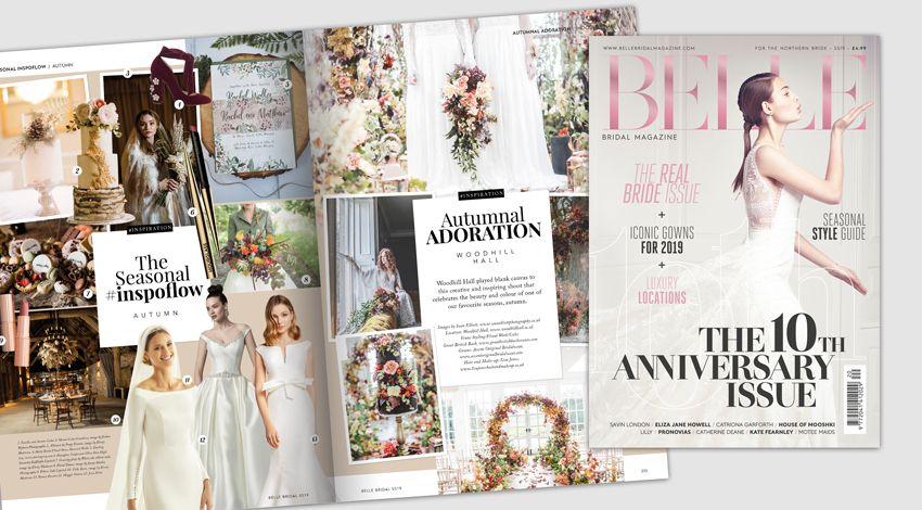 Mama Cakes Cumbria featured in Belle Bridal Magazine MAR 2018