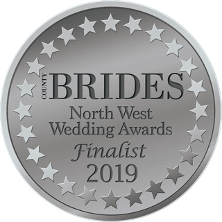 North West Wedding Awards 2019 badge